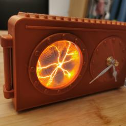 Descargar diseños 3D Reloj de plasma, Mondo