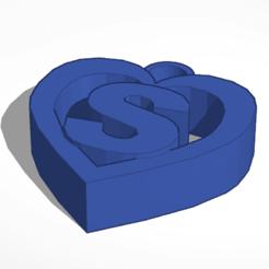 Télécharger fichier STL gratuit Porte-clés Ben's build S heart • Plan à imprimer en 3D, Mondo