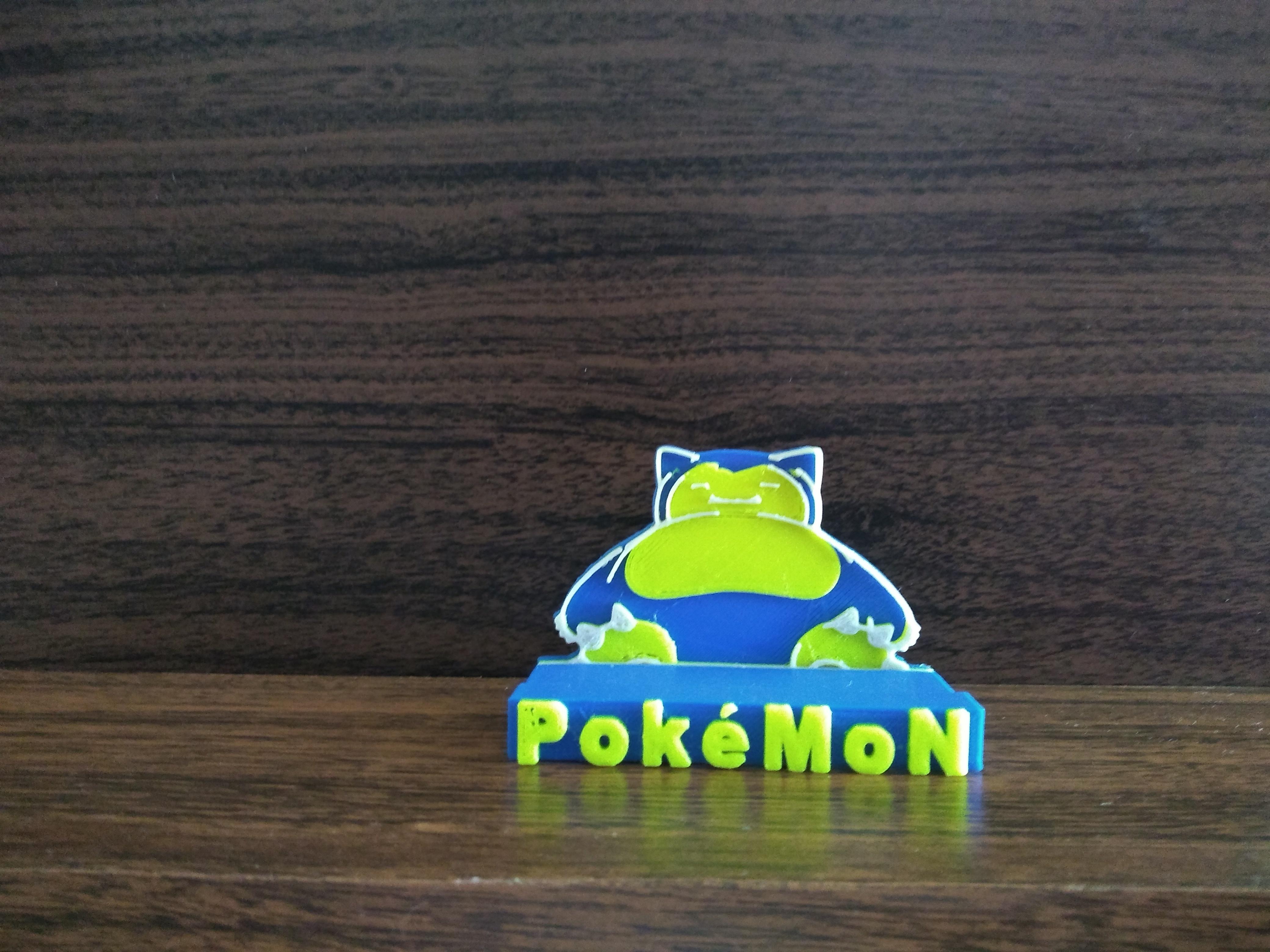 IMG_20200422_111346269.jpg Télécharger fichier STL gratuit SNORLAX CARD BASE POKEMON • Design pour imprimante 3D, CratozZero