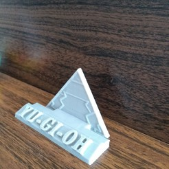 Download free 3D printing models YUGIOH BASE CARD HOLDER, CratozZero