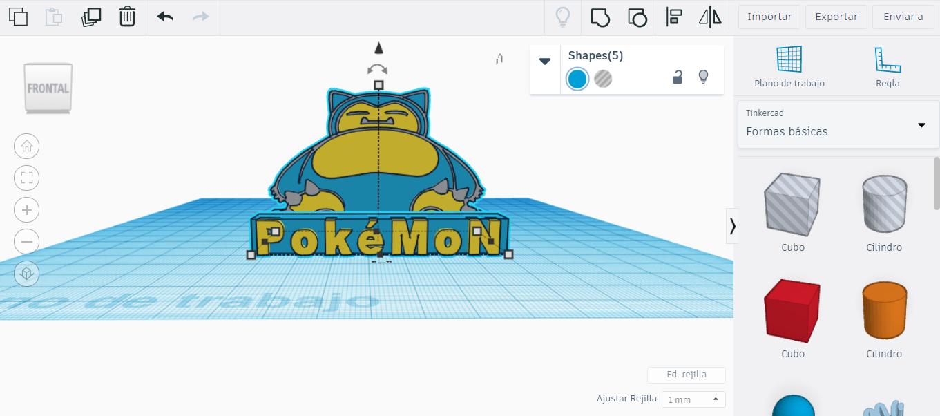 BASE.png Télécharger fichier STL gratuit SNORLAX CARD BASE POKEMON • Design pour imprimante 3D, CratozZero