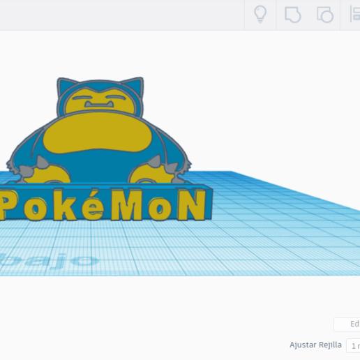 EVEV.png Télécharger fichier STL gratuit SNORLAX CARD BASE POKEMON • Design pour imprimante 3D, CratozZero