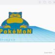 Télécharger objet 3D gratuit SNORLAX CARD BASE POKEMON, CratozZero