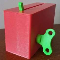 Download free 3D printer templates Mechanically Powered Useless Box / Machine, 3DMakerMarket