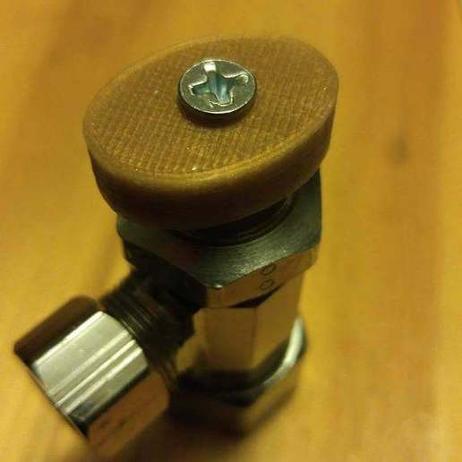 Dads_Valve_1.1.jpg Télécharger fichier STL gratuit Poignée de soupape (artisanat du cuivre) • Modèle à imprimer en 3D, 3DMakerMarket