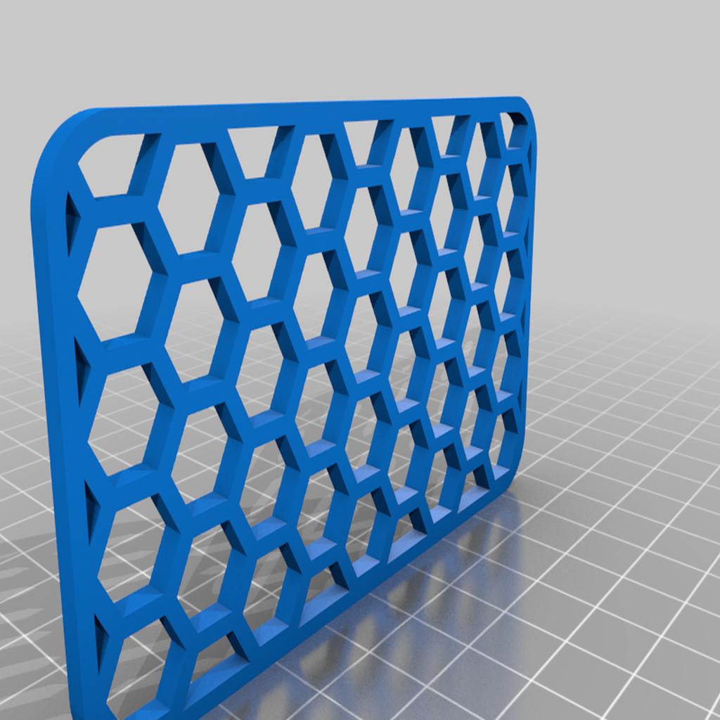 Soap_Dish_-_Honeycomb_Grate.png Download free STL file Soap Holder Dish • 3D print design, 3DMakerMarket