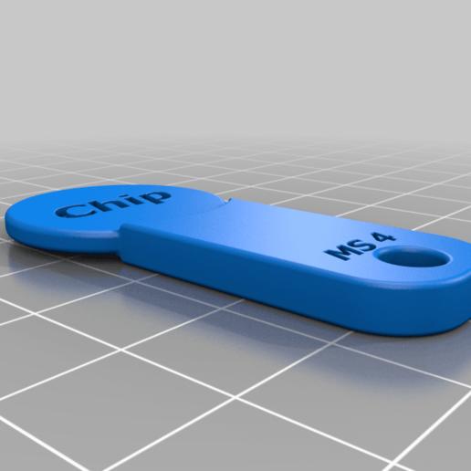 Chip_V2.png Télécharger fichier STL gratuit Einkaufschip / Chip • Objet pour imprimante 3D, Xmissile