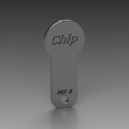 Chip.png Télécharger fichier STL gratuit Einkaufschip / Chip • Objet pour imprimante 3D, Xmissile