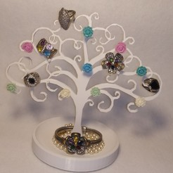 Download free 3D printing files Jewelry tree, empren3d