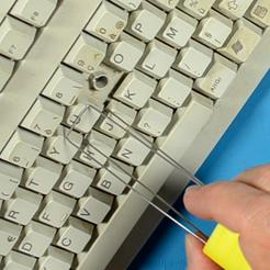 Keycap Puller square.png Download free STL file Keycap Puller - Extractor for keyboard keys • 3D printer design, YaaJ