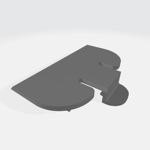 """c.png Télécharger fichier STL gratuit Wahl Clipper 1/8"""" Peigne • Objet pour imprimante 3D, JC4"""