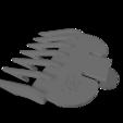 """Télécharger objet 3D gratuit Wahl Clipper 1/8"""" Peigne, JC4"""