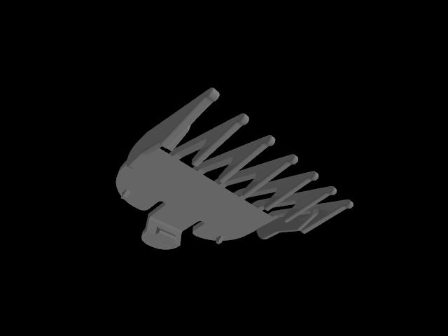 """a.png Télécharger fichier STL gratuit Wahl Clipper 1/8"""" Peigne • Objet pour imprimante 3D, JC4"""