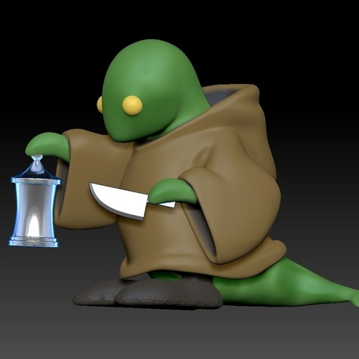 ZBrush Document.jpg Download free STL file Tonberry Final Fantasy • 3D printable template, Municipal_Soldier