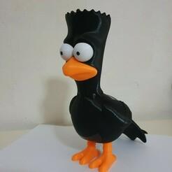 1.jpg Télécharger fichier STL Les Simpsons Raven Bart • Design pour imprimante 3D, Municipal_Soldier