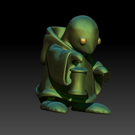 8.jpg Download free STL file Tonberry Final Fantasy • 3D printable template, Municipal_Soldier