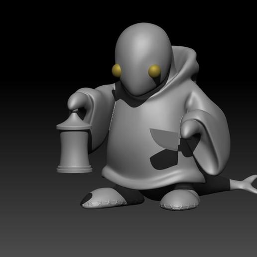 7.jpg Download free STL file Tonberry Final Fantasy • 3D printable template, Municipal_Soldier