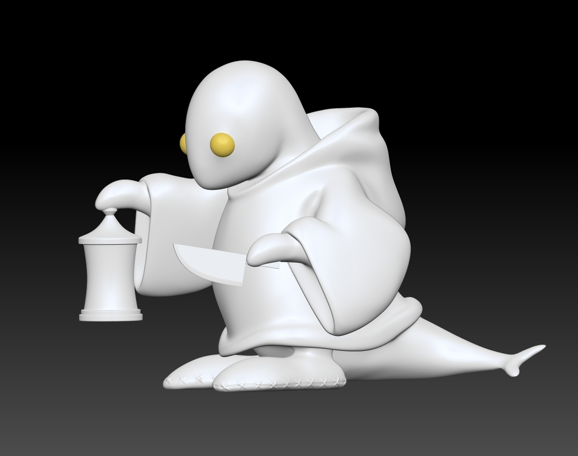 4.jpg Download free STL file Tonberry Final Fantasy • 3D printable template, Municipal_Soldier