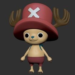 1.jpg Download STL file One Piece Tony Tony Chopper • 3D printing object, Municipal_Soldier