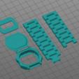 Download free 3D printer files CASIO WATCH, JL_3DPRINT