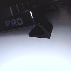 side_keyboard.jpg Download free STL file Logitech G Pro Keyboard Legs • 3D printer template, Fisher60