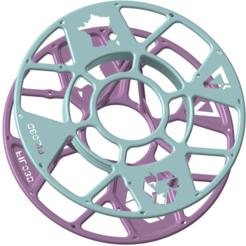 Filo-3D_Projet-A-bis.png Télécharger fichier STL gratuit Filo3D, DAGOMA, support pour bobine, Club Dagoma • Objet à imprimer en 3D, Ed_