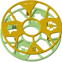 Filo-3D_Projet-B.png Télécharger fichier STL gratuit Support pour Bobine Filo3D • Modèle à imprimer en 3D, Ed_