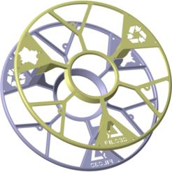 Filo-3D_Projet-C-bis.png Télécharger fichier STL gratuit Support pour Bobine Filo3D • Modèle à imprimer en 3D, Ed_