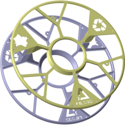 Filo-3D_Projet-C-bis.png Télécharger fichier STL gratuit  Filo3D, DAGOMA, support pour bobine, Club Dagoma • Objet à imprimer en 3D, Ed_