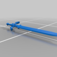 Télécharger fichier STL gratuit Epée de légende - Zelda • Design à imprimer en 3D, M3Dr