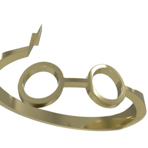 Télécharger fichier STL gratuit Harry potter ring • Design pour impression 3D, M3Dr