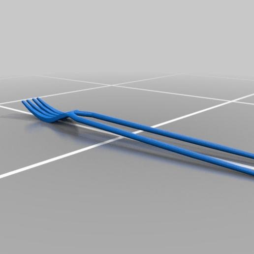dd380bdb0437c7e14d9e9220df526d51.png Télécharger fichier STL gratuit Fourchette-baguettes (Forkstick) • Plan à imprimer en 3D, M3Dr