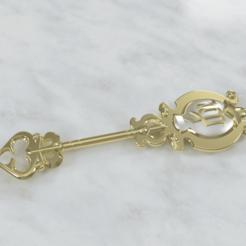Virgo_key.png Download STL file Virgo key • 3D print model, M3Dr