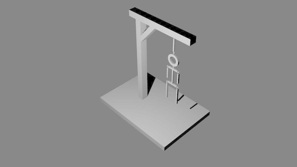hangman.png Télécharger fichier STL gratuit Jeu du pendu • Plan pour imprimante 3D, M3Dr