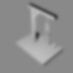 gallows1.stl Télécharger fichier STL gratuit Jeu du pendu • Plan pour imprimante 3D, M3Dr
