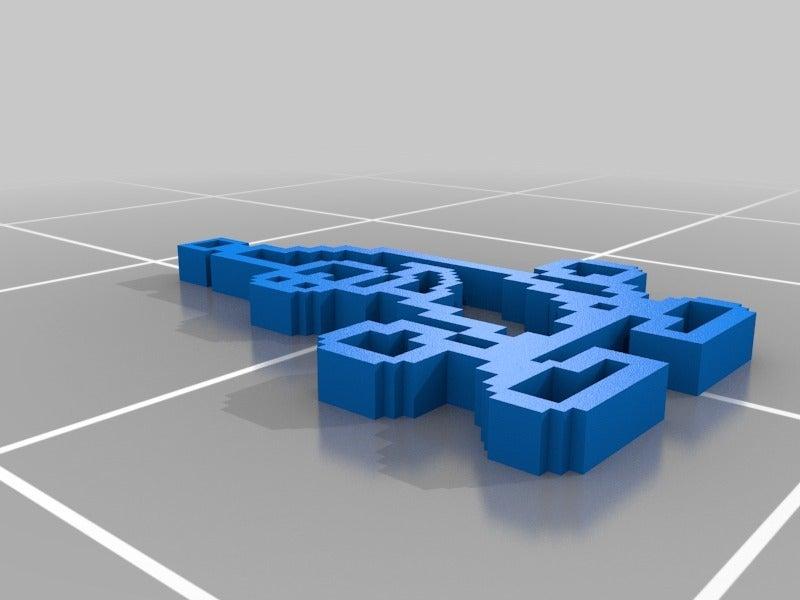 c2b6266bce483897cdaefe95e85318be.png Télécharger fichier STL gratuit Porte-clé banane • Design à imprimer en 3D, M3Dr