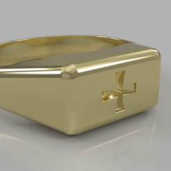 Download free 3D printing designs Templar ring, M3Dr