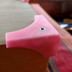 Descargar modelos 3D gratis El protector de la esquina de la mesa se puede atornillar, exca331