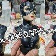Download free OBJ file Catwoman • 3D printer design, ideasenpareja