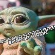 Télécharger fichier STL gratuit Baby Yoda • Plan à imprimer en 3D, ideasenpareja
