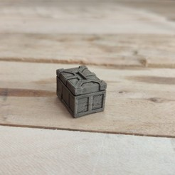 Download STL file Scifi Crates - TableTop and Dioramas • 3D printing design, The3Dprinting