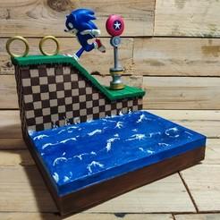 Télécharger fichier STL Hedgehog Diorama - Hérisson bleu non inclus, The3Dprinting