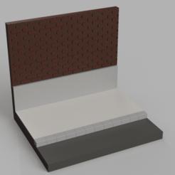 Download STL file Simple Street Diorama Base • 3D print design, The3Dprinting