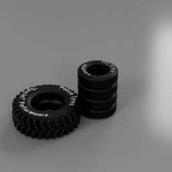 Descargar archivo 3D Neumáticos para la mesa y los dioramas, The3Dprinting