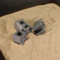 20201012114205_IMG_0316.jpg Download STL file Concrete Blocks • 3D printing object, The3Dprinting