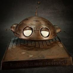 """20201017193523_IMG_0329.jpg Télécharger fichier STL Le robot """"Fix it"""" - sans piles • Objet imprimable en 3D, The3Dprinting"""
