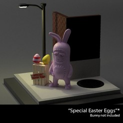 "SpecialEasterEggs.jpg Download free STL file ""Special"" Easter Eggs - Bunny not included • 3D printable template, The3Dprinting"