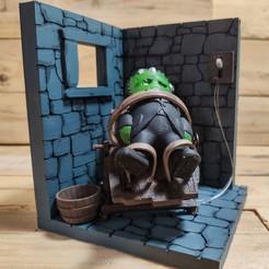 Descargar modelo 3D gratis Diorama de Frankenstein - Mini no incluido, The3Dprinting
