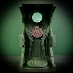 Télécharger fichier STL Diorama de la chambre d'assimilation pour le mini-modèle Wekster • Objet à imprimer en 3D, The3Dprinting