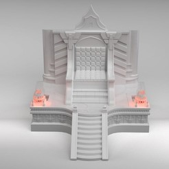 Leoric Throne.10.jpg Download STL file Leoric's Throne • 3D printer object, The3Dprinting